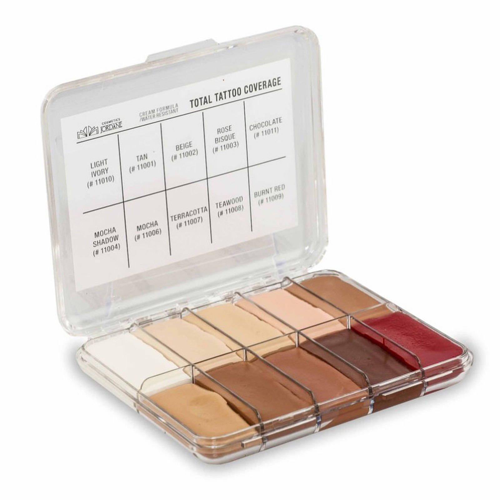 Jordane Total Tattoo Coverage Palette | Alcone Company